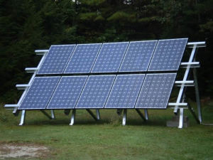 Solar Ground Mounted Terrace Ii Systems