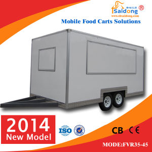 Food Cart Vending Mobile Food Cart with Wheels Fvr35-45