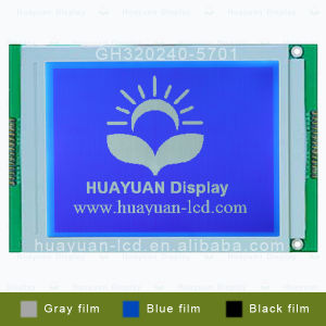 320*240 Graphic LCD Display Module with Blue Backlight