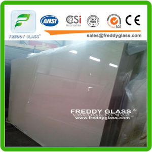 Clear Frosted Door Glass/Clear Acid Etched Glass Door/Acid Etch Glass/Sand Blast Glass/Ultra Clear Frost Glass/Screen Glass/Figured Glass with Screen pictures & photos