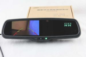 Rearview Mirror Monitor with Reverse Camera Display4.3inch, Compass for Hyundai KIA
