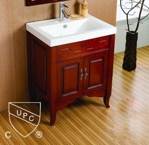 USA Marker Hot Selling Bathroom Cabinet Basin with Upc (SN1538-80)