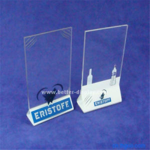 Wholesale A4 Acrylic Sign Holder pictures & photos