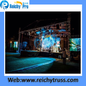 Aluminium Video Truss, Speaker Truss, Fair Truss Ry. Heavy Light Truss for Events with TUV Mark pictures & photos