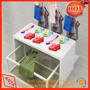 MDF Shop Baby Garment Display Rack pictures & photos