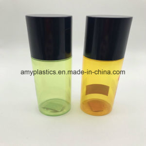 Clear Plastic Bottle for Cosmetic package