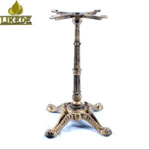 Antique European Style Clic Cast Iron Table Base Coffee Frame Leg On