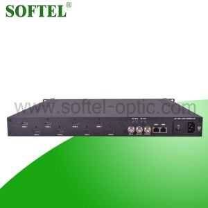 MPEG-4 Avc/H. 264 4 HDMI, 1 Asi Input 8 in 1 HD Encoder pictures & photos