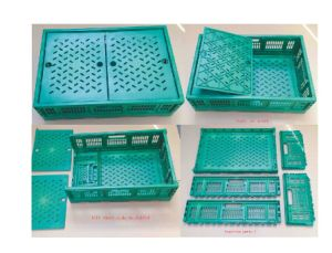 Collapsible Plastic Pallet Box / Small Plastic Box / Plastic Collapsible  Storage Box