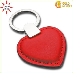 Factory Custom High Quality PVC Red Heart Keychain pictures & photos