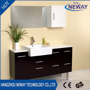 China Factory Made Floor Mounted PVC Single Bathroom Vanity China - Bathroom vanities floor mounted