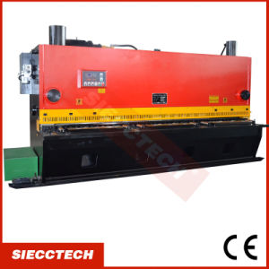 QC11y 6X4000 CNC Metal Plate Guillotine Cutting Machine pictures & photos