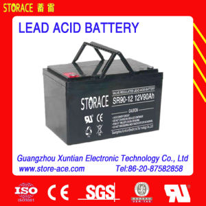12V 90ah Rechargeable Maintenance Free Battery pictures & photos