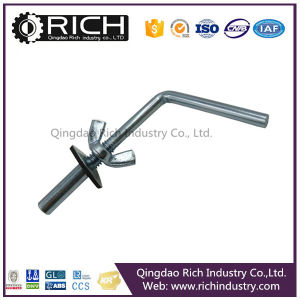 Carbon Steel Stainless Steel J-Bolt&Nut/Hook Bolts Wing Nut/Fixing Bolt/Cavity Fixing Metal Hollow Wall Anchor Bolt Galvanized pictures & photos