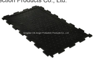 Interlocking Rubber Stable Mat for Cow, Horse, Animals