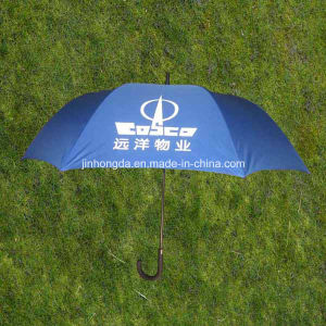 "27""X8k Fiberglass Ribs Advertising Promotion Golf Umbrella with Logo (YSS0150)"