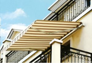 Economic Retractable Awnings with Polyester Fabric (G-01)