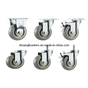 Medium Duty Thermoplastic Rubber Swivel Wheel