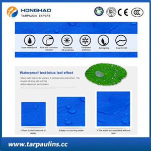 UV-Resistant Truck Cover Durable HDPE Tarpaulin Fabric pictures & photos