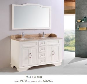 Bathroom Furniture with Mirror Wooden Vanity