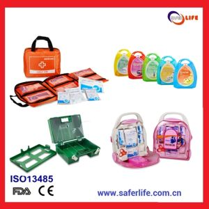 Travel Medical Trauma First Aid Kit Firstaid Box Promotion Home Auto Car Factory Metal Box Wholesale pictures & photos