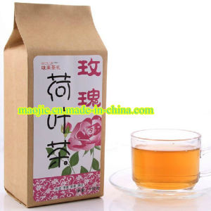 Healthy Herbal Rose and Lotus Leaf Weight Loss Tea (MJ 300g) pictures & photos