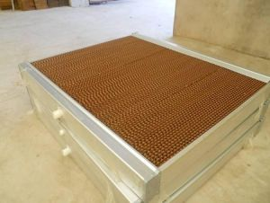 Greenhouse/Poultry/Factory Cooling Pad System pictures & photos
