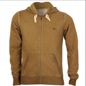 Men′s High Quality Cotton Blown Winter Sport Hoodie (D176)