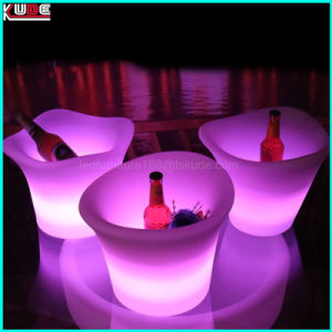 Multi-Color LED Ice Bucket LED Drink Holder pictures & photos