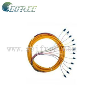 12 Core LC/Upc Optical Fiber Patch Cord Cable pictures & photos