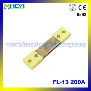 Export Type (FL-13) Series Manganese-Copper Alloy DC Current Shunt Resistor for Current Transformer pictures & photos
