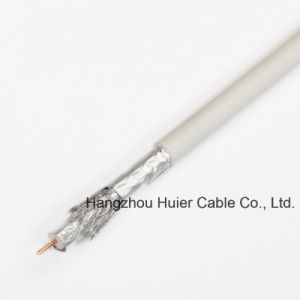 Low Db Loss Rg59 RG6 Rg11 with Messenger Coaxial Cable for CATV Satellite System