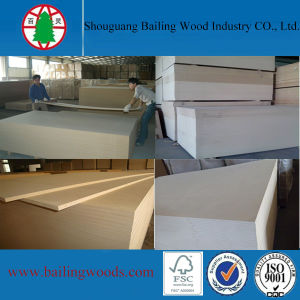 15mm Low Price Plain MDF for Furniture