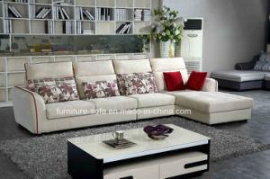 Modern Chinese Furniture Nice Fabric Corner Sofa With High Back 0307