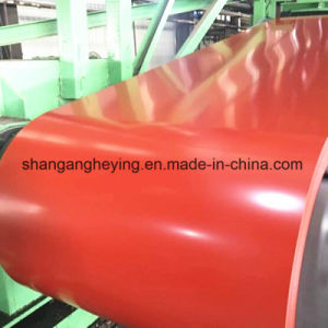 China Mill Hot-Dipped Color Coated Galvanized Steel/PPGI/Gi/PPGL Steel Coil