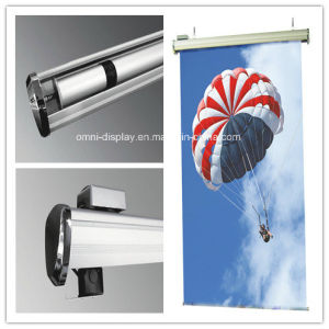 Hanging Scrolling Roll up Banner Stand (DW-H-6) pictures & photos