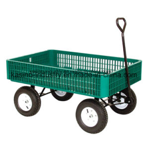 300kgs Capacity Pb-Free and UV Stable Plastic Garden Tool Cart/Beach Cart Tc4260 pictures & photos