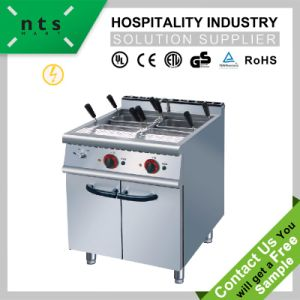 Electric Pasta Cooker with Cabinet for Hotel & Restaurant & Catering Kitchen Equipment pictures & photos