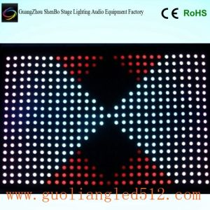 LED Video Star Cloth for Rental, Club, Party, Wedding Decoration