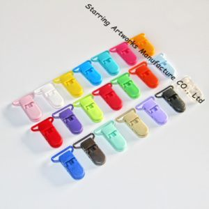 Baby Plastic Pacifier Clip Holder Soother Mam Infant Dummy Clips
