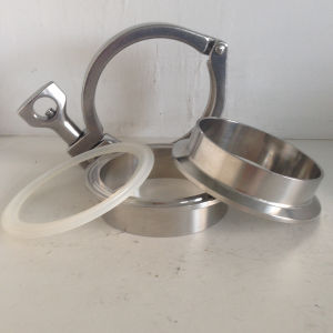 Stainless Steel Ss304 Food Grade Complete Ferrule Clamp pictures & photos