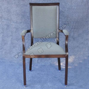 Black Tube and Comfortable Armrest Restaurant Chair (YC-E65-05) pictures & photos