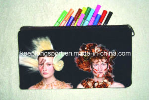 Full Colors Printing Fashion Cutomized Neoprene Pencil Case