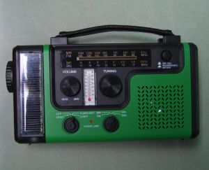 High Quality Crank Solar Radio (HT-998B) pictures & photos
