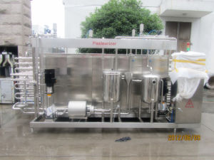 Full Automatic 3000L/H Milk Uht Sterilizer pictures & photos