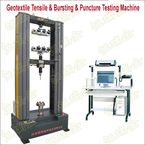 Geotextile Tensile and Bursting and Puncture Testing Machine