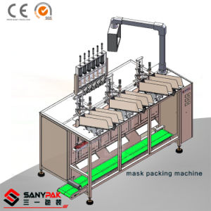 Automatic High Speed Six Heads Facial Mask Making Machine