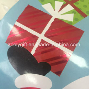 Custom Design UV Spot Santa Claus Printing Christmas Paper Gift Bags pictures & photos