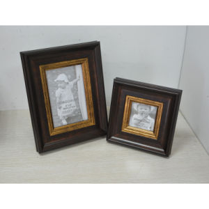 Plastic Frame Like Wooden for Gift pictures & photos