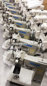 Post Bed Chain Stitch Glove Sewing Machine pictures & photos